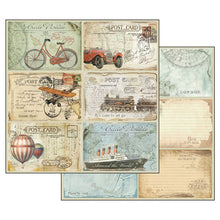 "Load image into Gallery viewer, Stamperia - Around the World - 12"" x 12"" Paper Pad - SBBL28"