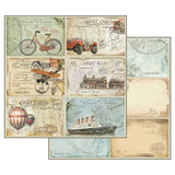 "Stamperia - Around the World - 12"" x 12"" Paper Pad - SBBL28"