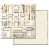 "Stamperia - Atelier Collection - 12"" x 12"" Paper Pad"