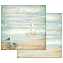 "Load image into Gallery viewer, Stamperia Sea Land - 12"" x 12"" Paper Pad - SBBL37"