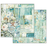 "NEW Stamperia Wonderland Collection - 12"" x 12"" Paper Pad - SBBL38"