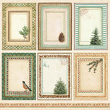 "Winter Botanic Collection - 12"" x 12"" Paper Pad"