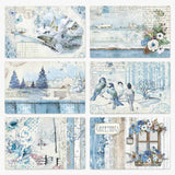 "Stamperia Blue Land - 12"" x 12"" Paper Pad"