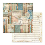 "NEW Stamperia Music Collection - 12"" x 12"" Paper Pad - DaliART"