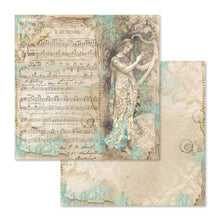 "Load image into Gallery viewer, NEW Stamperia Music Collection - 12"" x 12"" Paper Pad - DaliART"