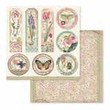 "NEW Stamperia Spring Botanic Collection - 12"" x 12"" Paper Pad SBBL50"
