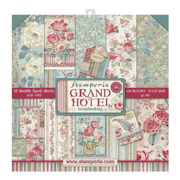 PreOrder - NEW Stamperia Grand Hotel - 12