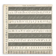 "Load image into Gallery viewer, NEW Stamperia Calligraphy  - 12"" x 12"" Paper Pad SBBL79 - Pre-Order"