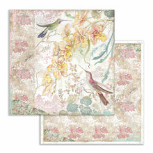 "Load image into Gallery viewer, NEW Stamperia Orchids & Cats - 12"" x 12"" Paper Pad SBBL81- Pre-Order"