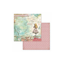 "Load image into Gallery viewer, Stamperia Alice  - 8"" x 8"" Paper Pad SBBS01"
