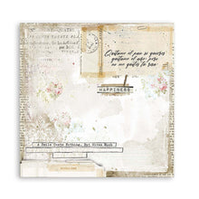 "Load image into Gallery viewer, New Stamperia Romantic Journal - 8"" x 8"" Paper Pad SBBS34"
