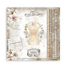 "Load image into Gallery viewer, New Stamperia Threads- 8"" x 8"" Paper Pad SBBS36 - Pre-Order"