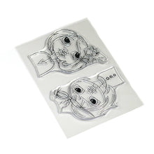 Load image into Gallery viewer, Floral Girls Stamp Set - CS169