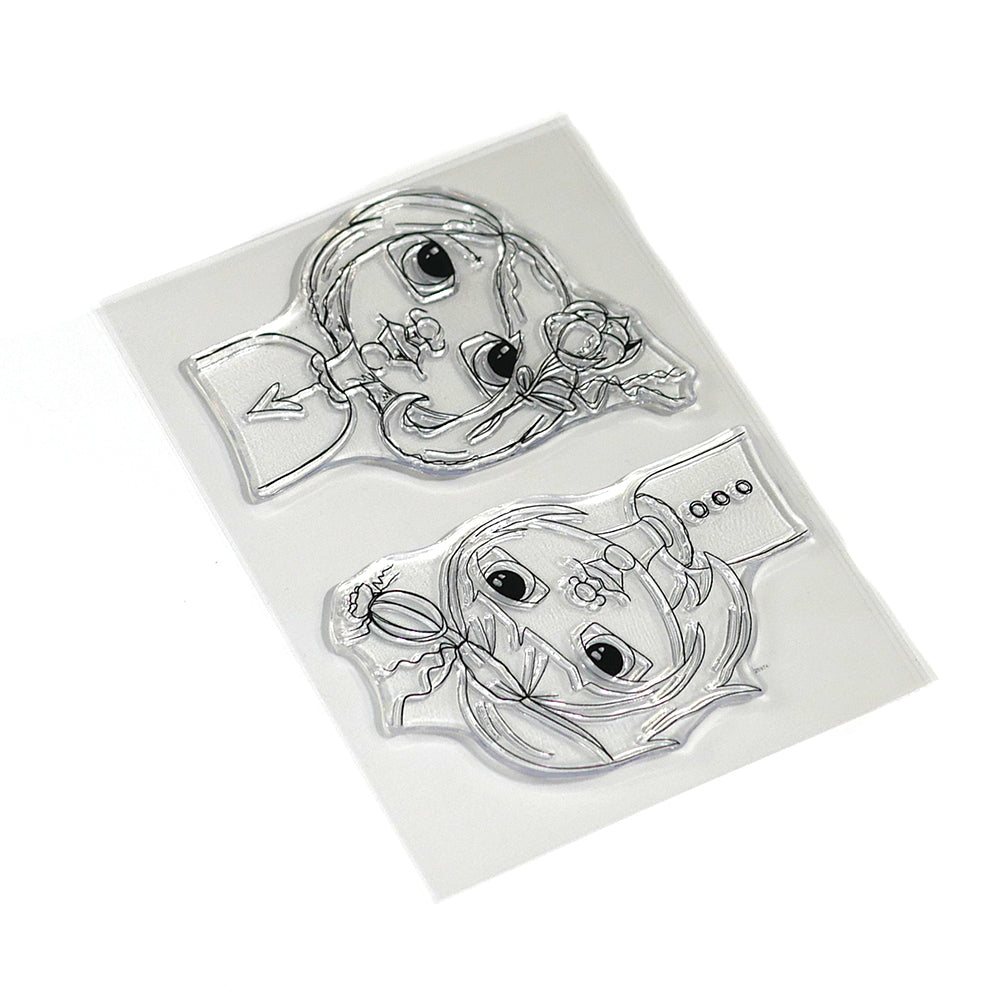 Floral Girls Stamp Set - CS169