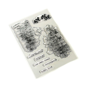 ECD Words and Layers Stamp Set - CS170