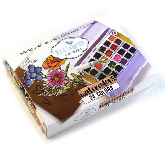 Elizabeth Craft Designs WaterColour Set- Limited Stock