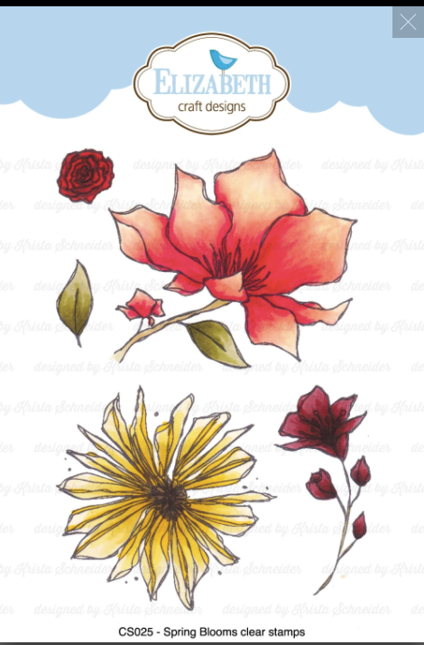 ECD Spring Bloom Stamp Set - CS025
