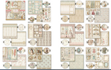 "Pre Order 2 NEW Stamperia Princess - 12"" x 12"" Paper Pad SBBL75 (End July)"