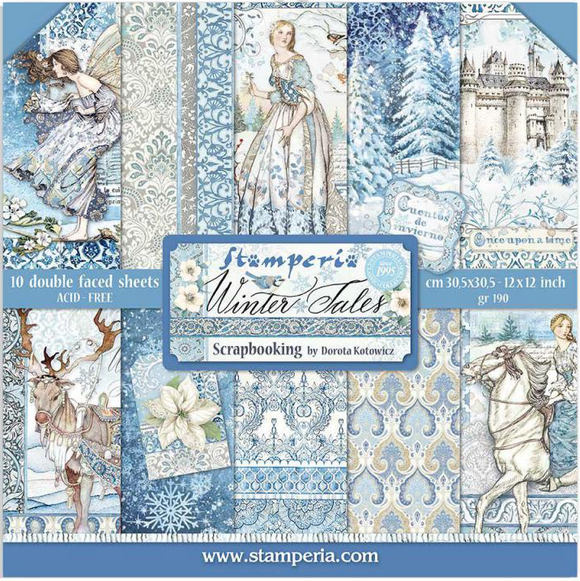 Pre-Order 2 NEW Stamperia Winter Tales - 12