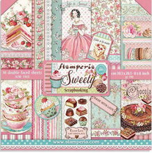 "Load image into Gallery viewer, Stamperia Sweety - 8"" x 8"" Paper Pad SBBS21"
