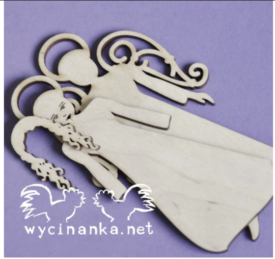 Wycinanka   3mm MDF - Angel Wings