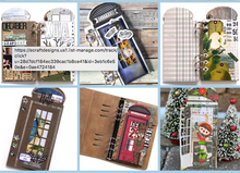 Load image into Gallery viewer, NEW ECD Planner Essentials Phone Booth Special Stamps - CS195