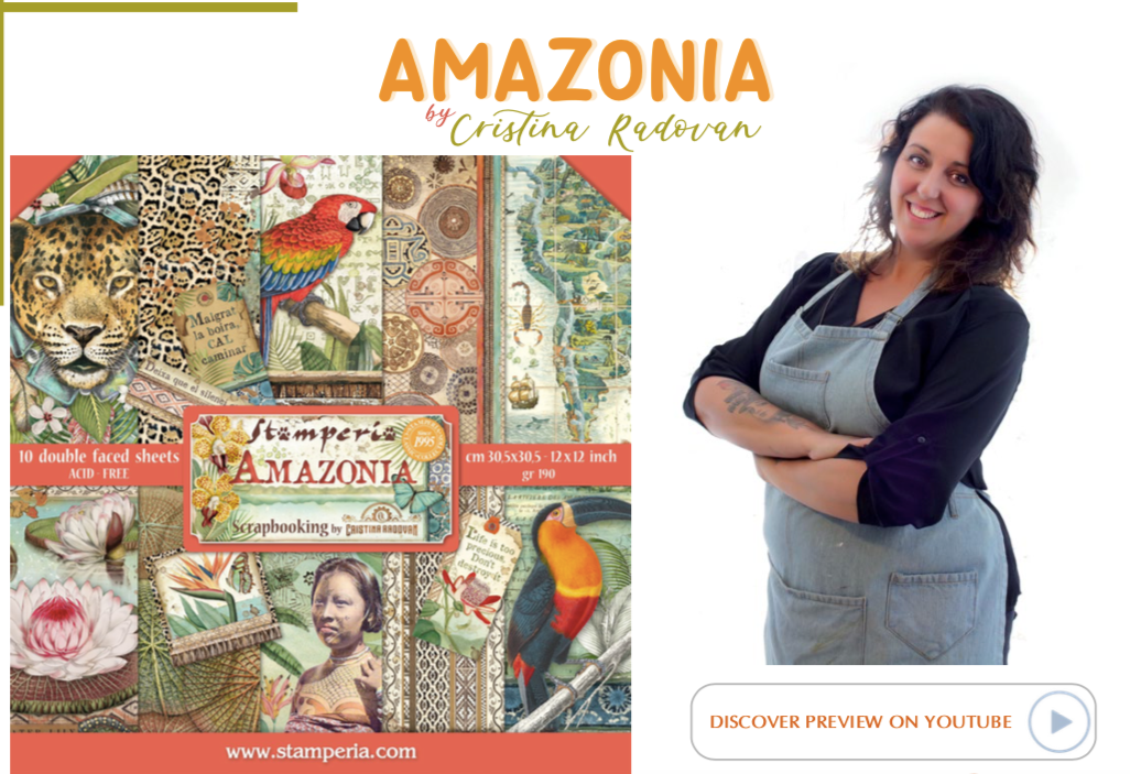 NEW Stamperia Amazonia Collection Overview, Hobbies & Creative Arts by The Craft House