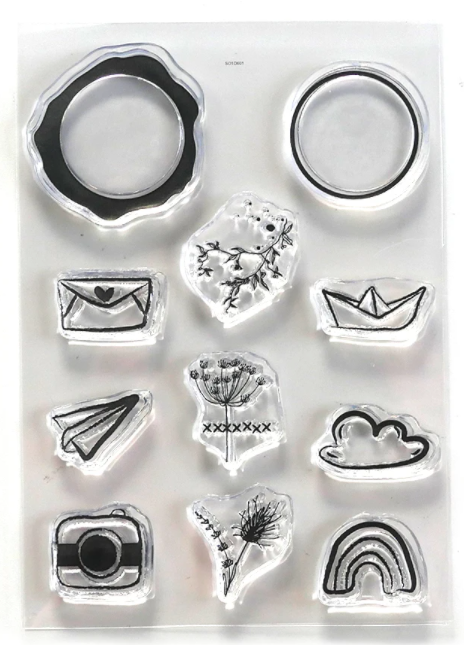 New ECD Seal Embellishments Stamp Set - CS220, Hobbies & Creative Arts by The Craft House
