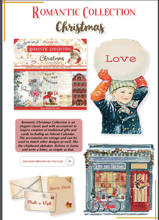NEW Romantic Christmas Collection Overview, Art & Craft Kits by The Craft House
