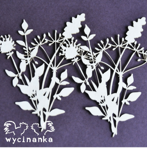 Wycinanka Flowers & Herbs - Chipboard