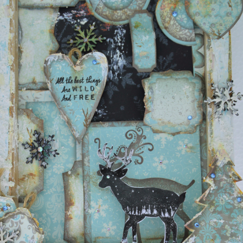 NEW DaliART 18th November AM Mixed Media Winter Wonderland at The Craft House, Denham - DaliART