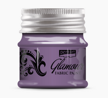 Load image into Gallery viewer, NEW Pentart Glamour Fabric Paint Metallic -50ml - DaliART