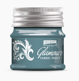 NEW Pentart Glamour Fabric Paint Metallic -50ml - DaliART