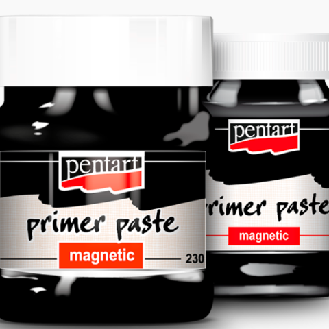 Pentart Primer Paste Magnetic, 100 ml, Art & Craft Paint by The Craft House