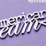 Wycinanka American Dream - Chipboard