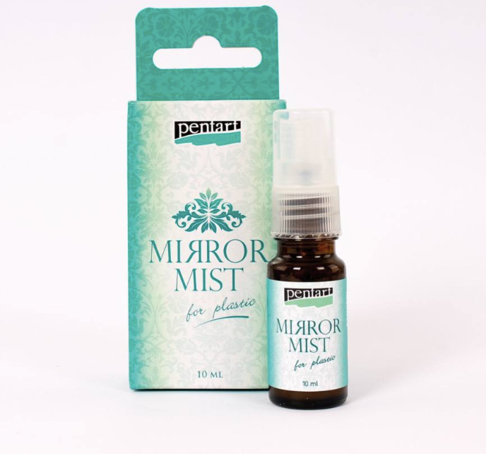 Pentart Mirror Mist for Plastic - 10 ml, Art & Craft Paint by The Craft House