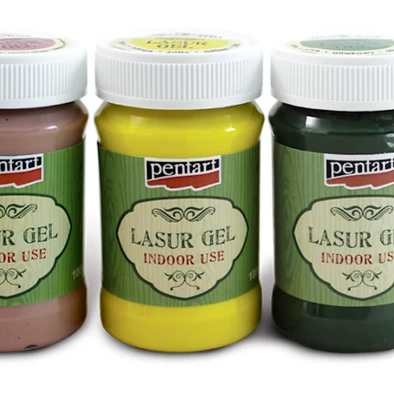 Pentart Lasur Gel 100ml - Various Colours