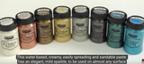 NEW Pentart Deluxe Paste - 100ml - 8 Colours