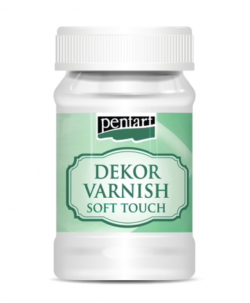 NEW Pentart Dekor Varnish Soft Touch 100 ml