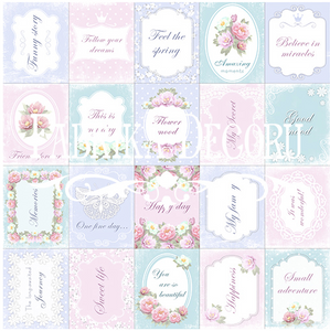 "Fabrika Decoru 'Memories"" Single Sheet -No2M"