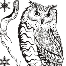 Load image into Gallery viewer, Becky Seddon 'Season's Hooting ' A6 Clear Stamp Set - DaliART