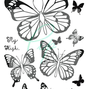 New PipART- Butterfly Wishes - A6 - DaliART