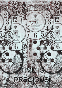 A4 Time Is Precious - Digital Download