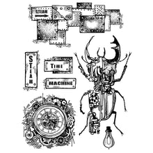 Load image into Gallery viewer, Special Offer NEW Stamperia Mechanical Fantasy Entire Collection - 12x12 Pad, 8 Stamps & 7 stencils