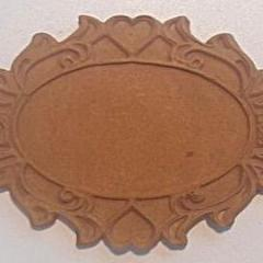 D'Arts elastic wood decorative plaque 48 - DaliART