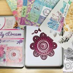 Doily Dream Tin Collection, Decorative Stamps by The Craft House