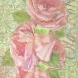 NEW Stamperia A4 Decoupage Rice Paper - Large Roses - DaliART