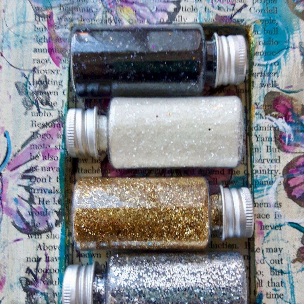 DaliART - Selection Of Glitters - Various Colours - DaliART