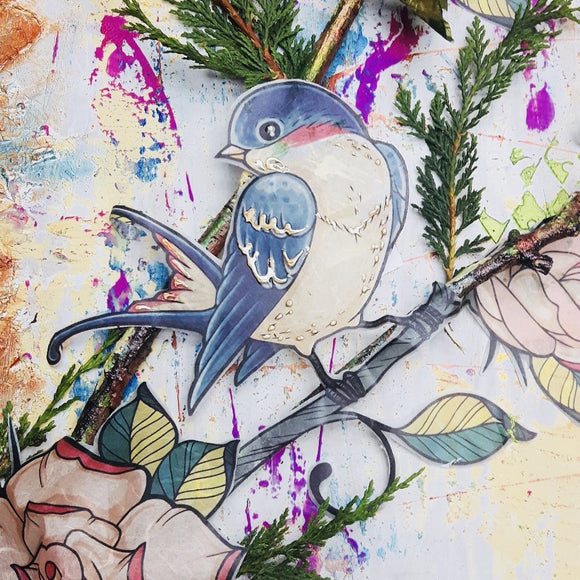 NEW DaliART Mixed Media Bespoke Workshop: 1st September 2018 - Denham, Buckinghamshire