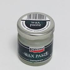 Pentart Wax Paste Transparent 30 ml